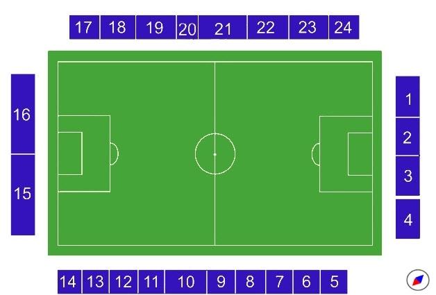 Черкизово схема стадиона